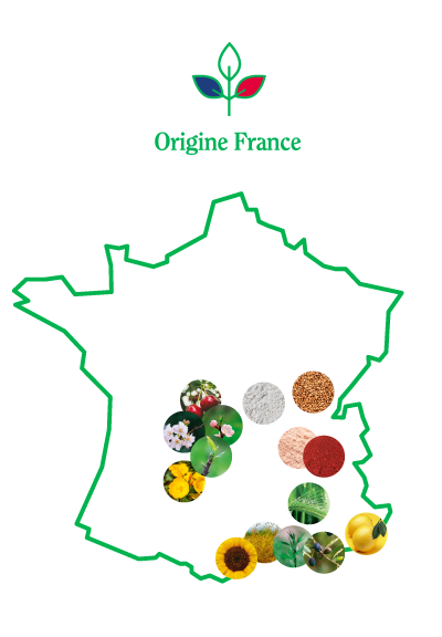 carte france ingredients origine france
