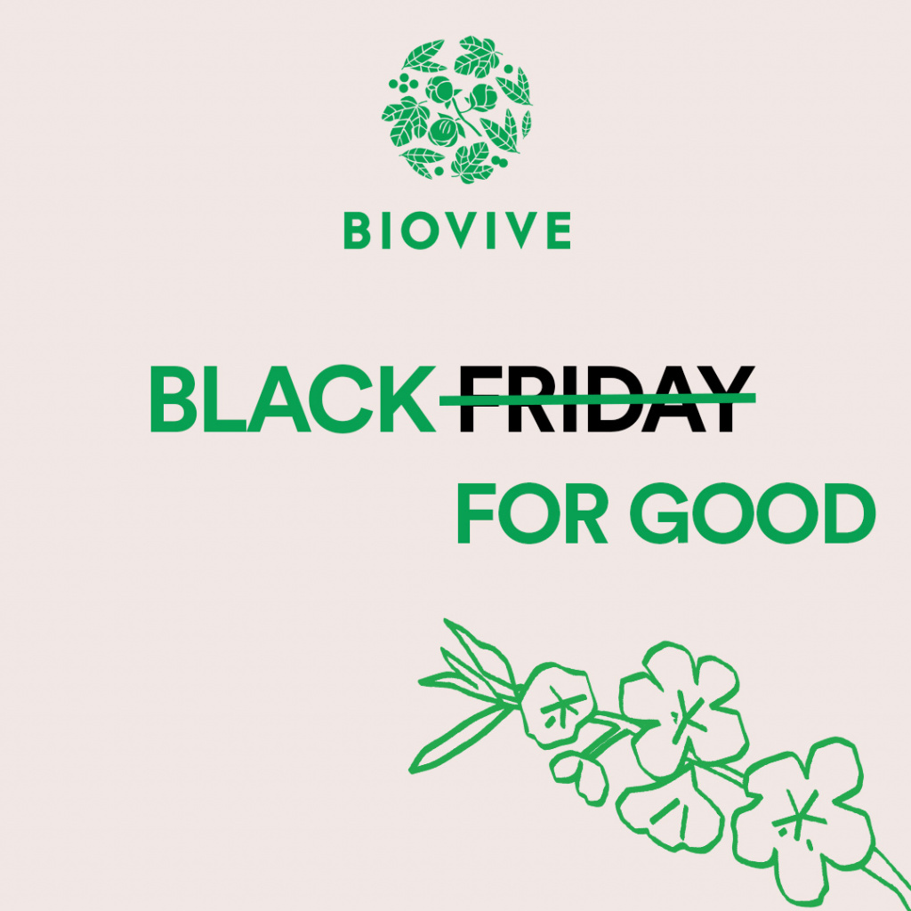 Black Friday : Biovive n'y participera pas !